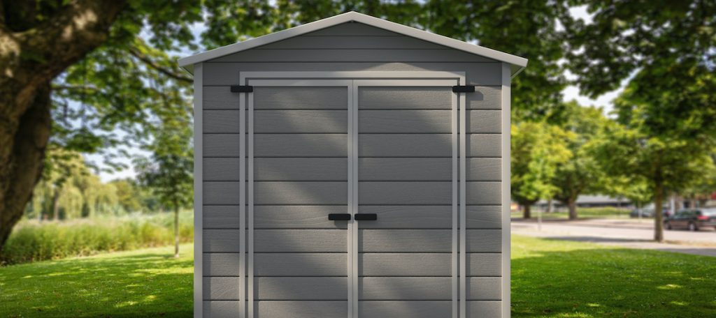 gardening tools storage shed in the house backyard 2021 04 06 01 03 57 utc